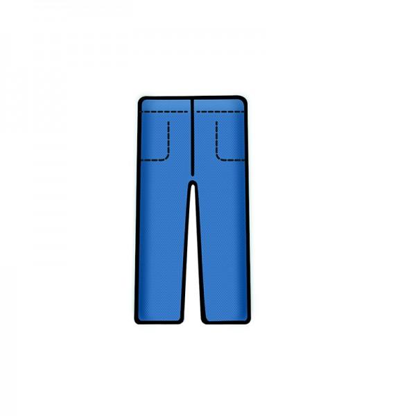 Bereichskleidung L&R Sentinex Hose Soft Blau