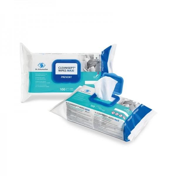 Desinfektionstücher Dr. Schumacher Cleanisept Wipes Maxi