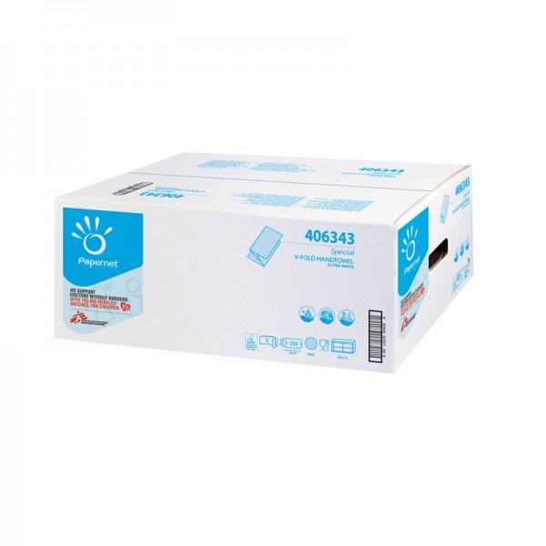 Papiertücher Papernet Special 2-lagig 24 x 23 cm