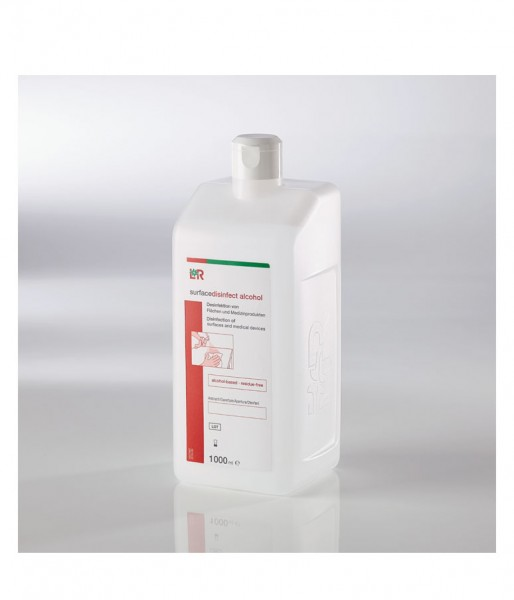 Schnelldesinfektion L&R surfacedisinfect alcohol
