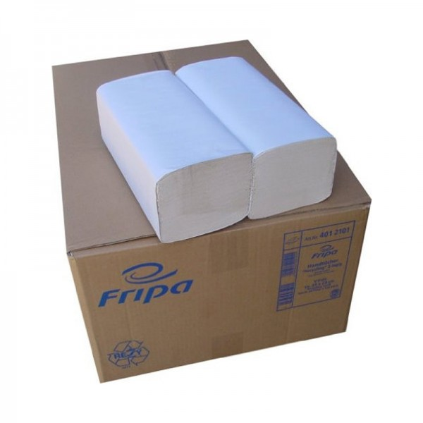 Handtuchpapier - Fripa Comfort - 2-lagig - 20 x 32 cm - Hochweiß -