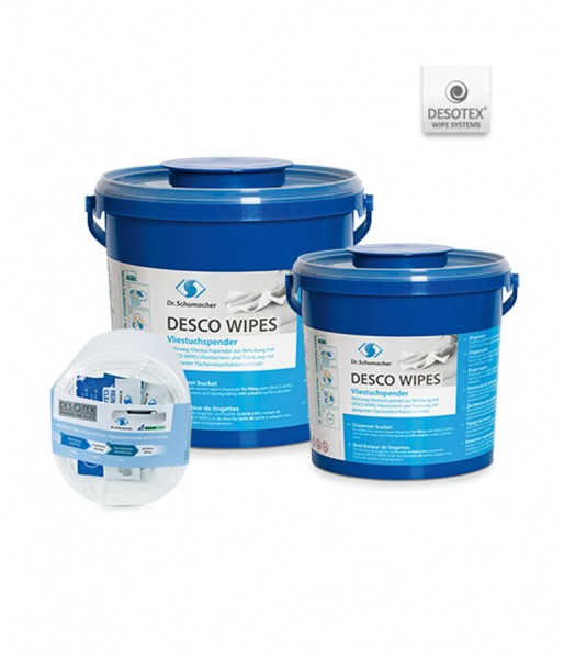Trockene Vliestücher Dr. Schumacher Desco Wipes 30x32 cm Rolle
