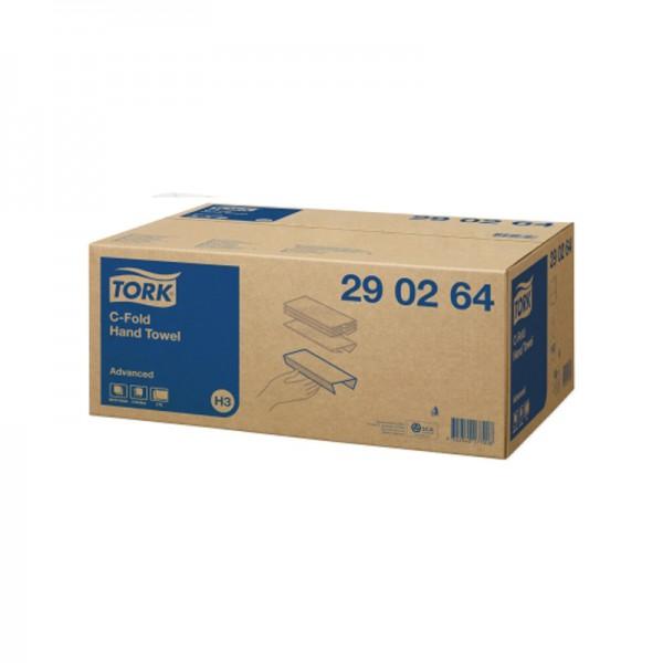 Handtuchpapier - Tork Advanced - 2-lagig - 25 x 33 cm - Hochweiß